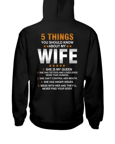 5 things my wife