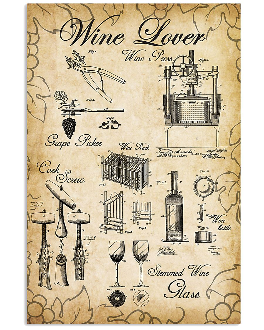 Wine Lover  24x36 Poster