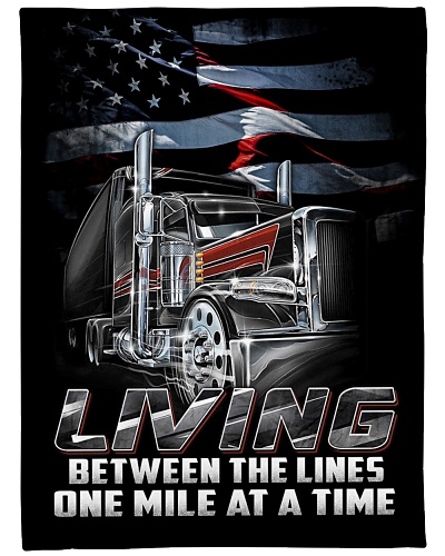Trucker living between the lines