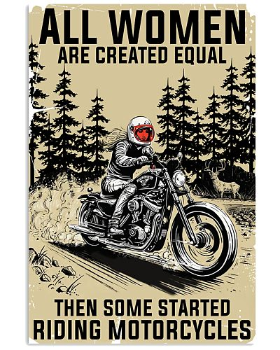 Women Riding Motorcycles