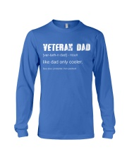 Dad Veteran  Long Sleeve Tee thumbnail