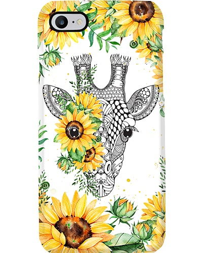 Giraffe Sunflower