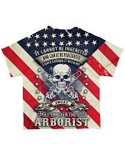 Arborist  All-over T-Shirt back