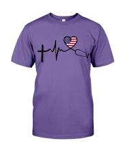 Faith Hope Love Nurse USa Premium Fit Mens Tee thumbnail