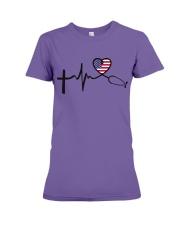 Faith Hope Love Nurse USa Premium Fit Ladies Tee thumbnail