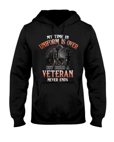 Veteran My time in uniform is over