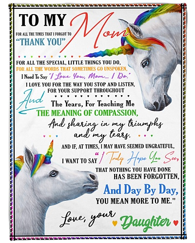 Unicorn To my Mom