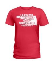 OKLAHOMA TEACHERS -  Ladies T-Shirt front