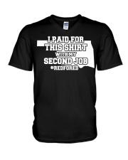 OKLAHOMA TEACHERS -  V-Neck T-Shirt thumbnail