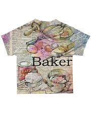 Baker  All-over T-Shirt back