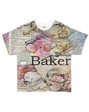 Baker  All-over T-Shirt front