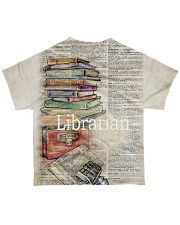 Librarian Limited All-over T-Shirt back