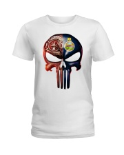 Firefighter Kansas Ladies T-Shirt thumbnail