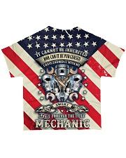 Mechanic All-over T-Shirt back
