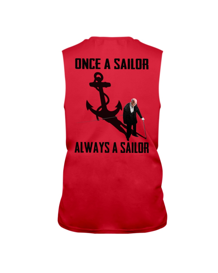 Sailor Sleeveless Tee showcase