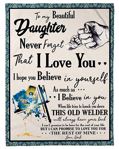 Welder To my Daughter