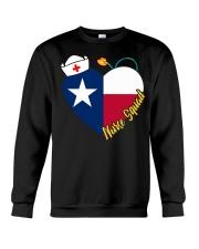 texas nurse Crewneck Sweatshirt thumbnail