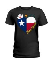 texas nurse Ladies T-Shirt front
