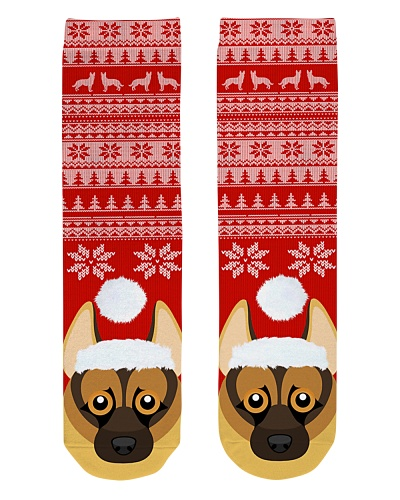 German Shepherd Sock