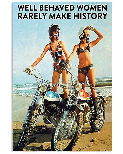 Biker Well Behaved Women
