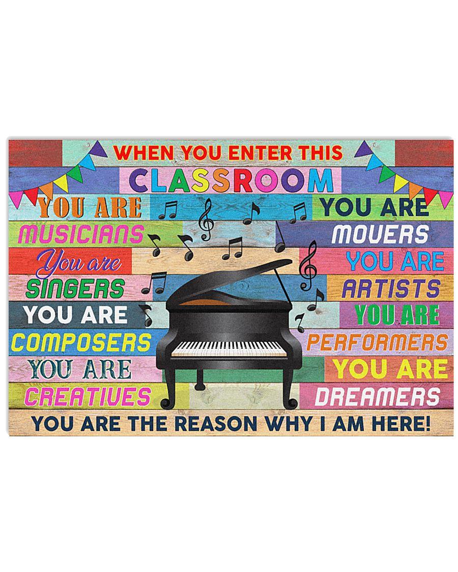 Music Teacher 36x24 Poster
