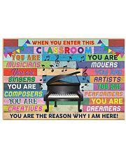 Music Teacher Horizontal Poster tile