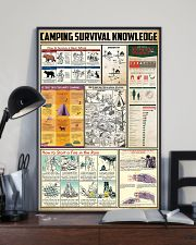 Camping Survival Knowledge 24x36 Poster lifestyle-poster-2