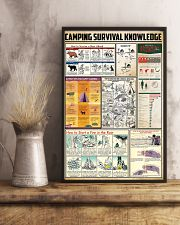 Camping Survival Knowledge 24x36 Poster lifestyle-poster-3