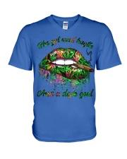 Dope Soul  V-Neck T-Shirt thumbnail