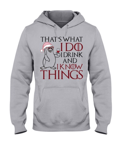 Sloth I drink and know things