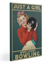 Bowling 20x30 Gallery Wrapped Canvas Prints thumbnail