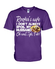 ROOFER WIFE V-Neck T-Shirt thumbnail
