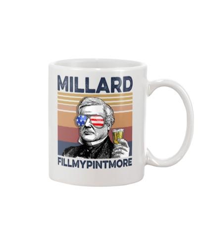 DrinkMugWhite Millard FillMyPintMore