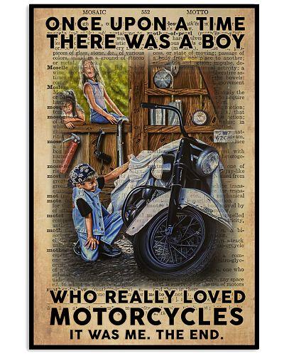 Biker Boy Loved Motorcycle