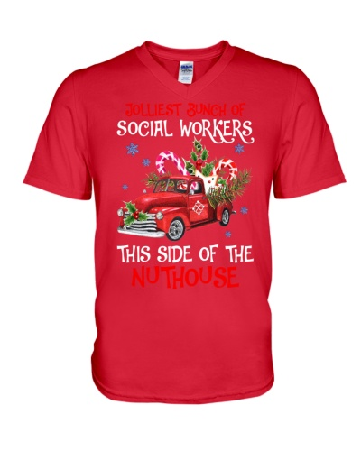 Social worker This side of the nuthouse