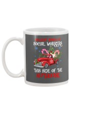 Social worker This side of the nuthouse Mug back