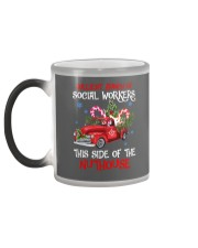 Social worker This side of the nuthouse Color Changing Mug color-changing-left