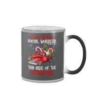 Social worker This side of the nuthouse Color Changing Mug color-changing-right