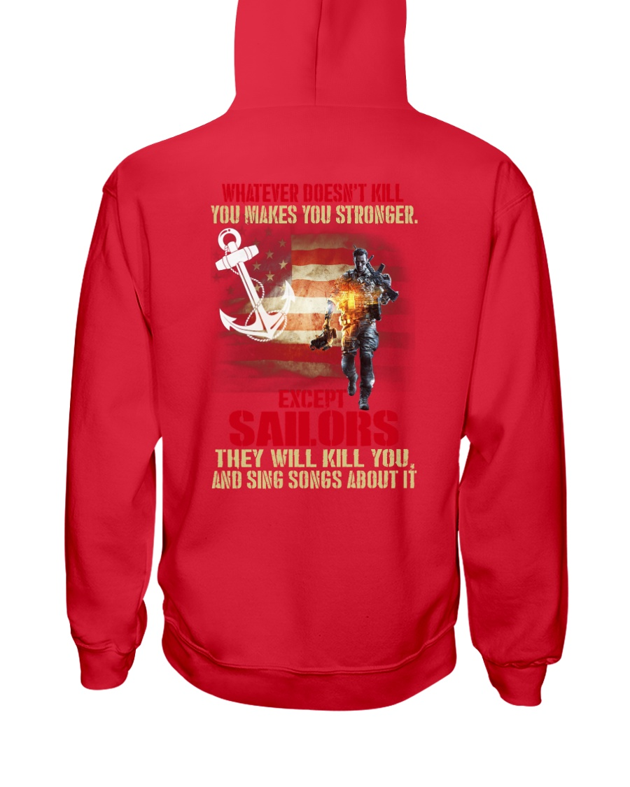 Sailor Hooded Sweatshirt