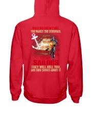 Sailor Hooded Sweatshirt back