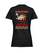 Sailor Ladies T-Shirt women-premium-crewneck-shirt-back