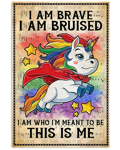 Unicorn I Am Brave