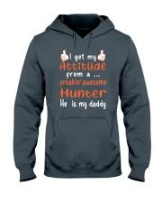 Hunter dad Hooded Sweatshirt thumbnail