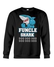 Funcle Shark Doo Doo Doo  Crewneck Sweatshirt thumbnail