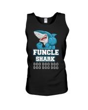 Funcle Shark Doo Doo Doo  Unisex Tank thumbnail