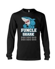 Funcle Shark Doo Doo Doo  Long Sleeve Tee thumbnail