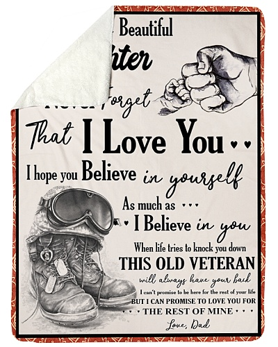 Veteran To my Daughter