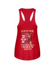 Sailor Ladies Flowy Tank back