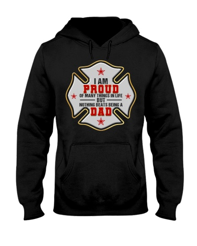 Firefighter Proud Dad