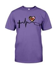 Faith Love Live Maryland Nurse Premium Fit Mens Tee thumbnail